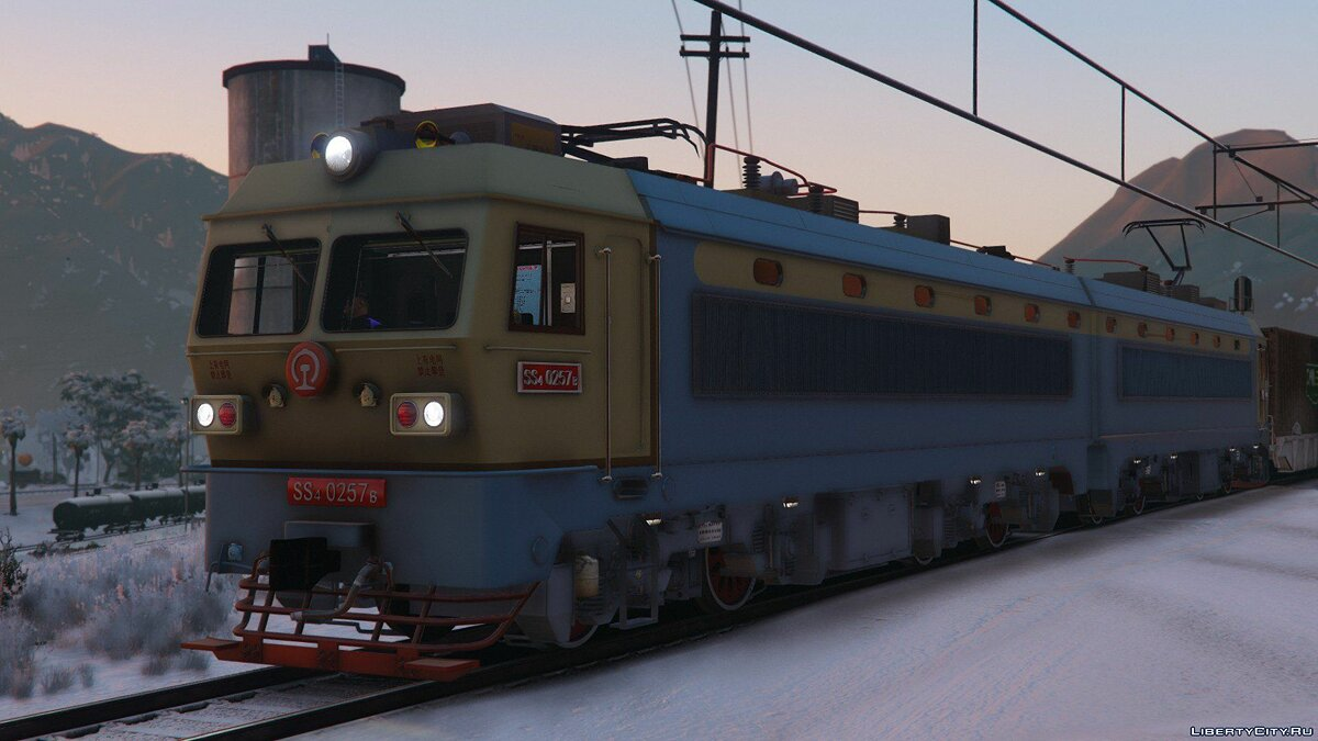SS4G Electric Locomotive [Add-On] 1.0 для GTA 5 - скриншот #4