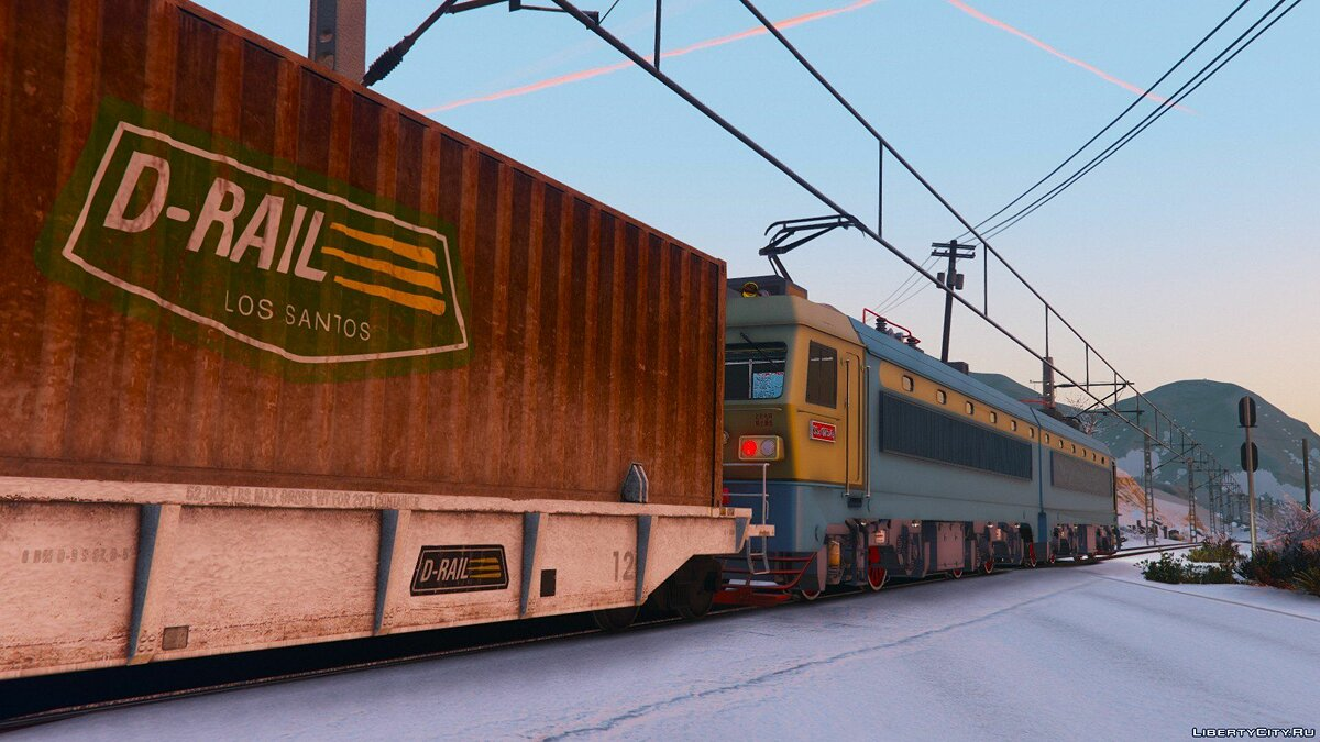 SS4G Electric Locomotive [Add-On] 1.0 для GTA 5 - скриншот #3