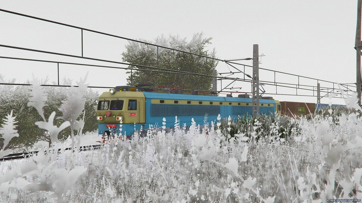 SS4G Electric Locomotive [Add-On] 1.0 для GTA 5 - скриншот #6