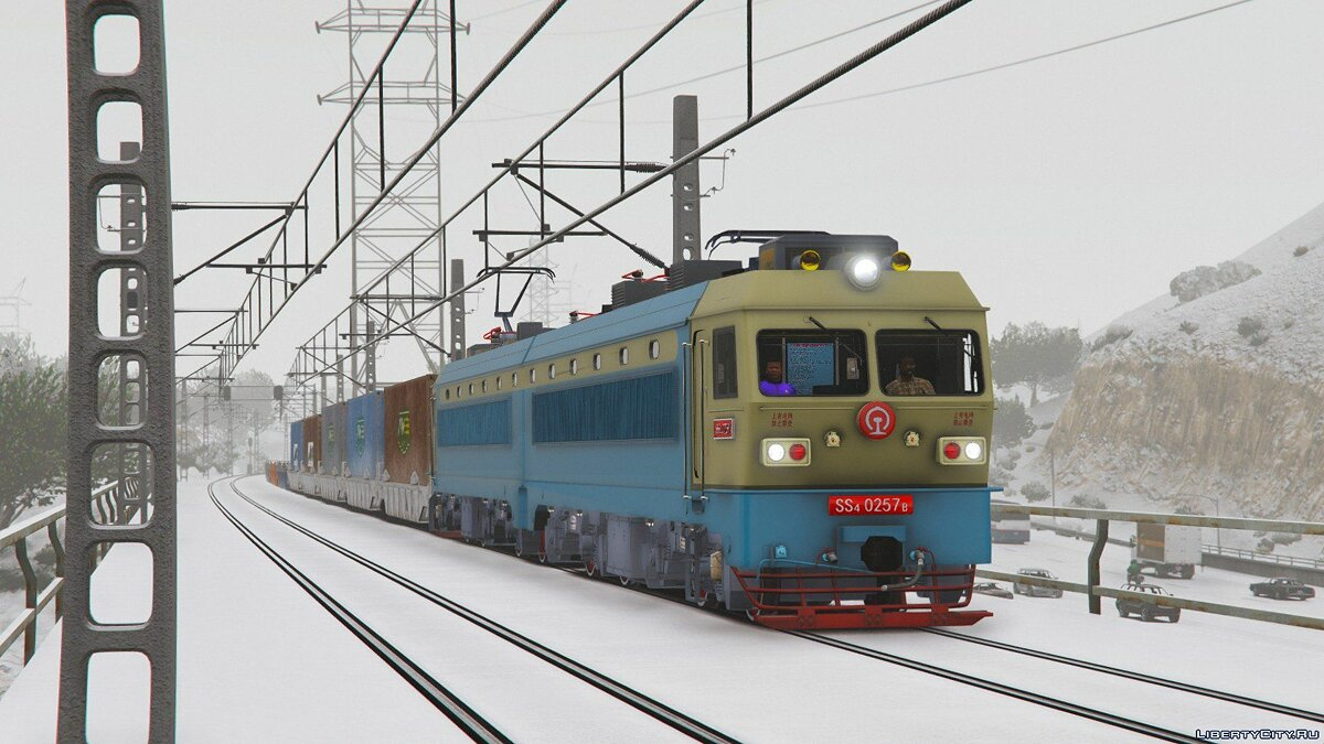 SS4G Electric Locomotive [Add-On] 1.0 для GTA 5 - скриншот #7