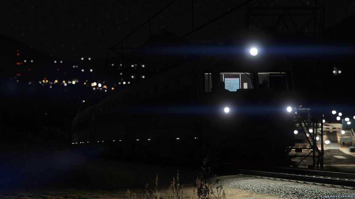 SS4G Electric Locomotive [Add-On] 1.0 для GTA 5 - скриншот #10
