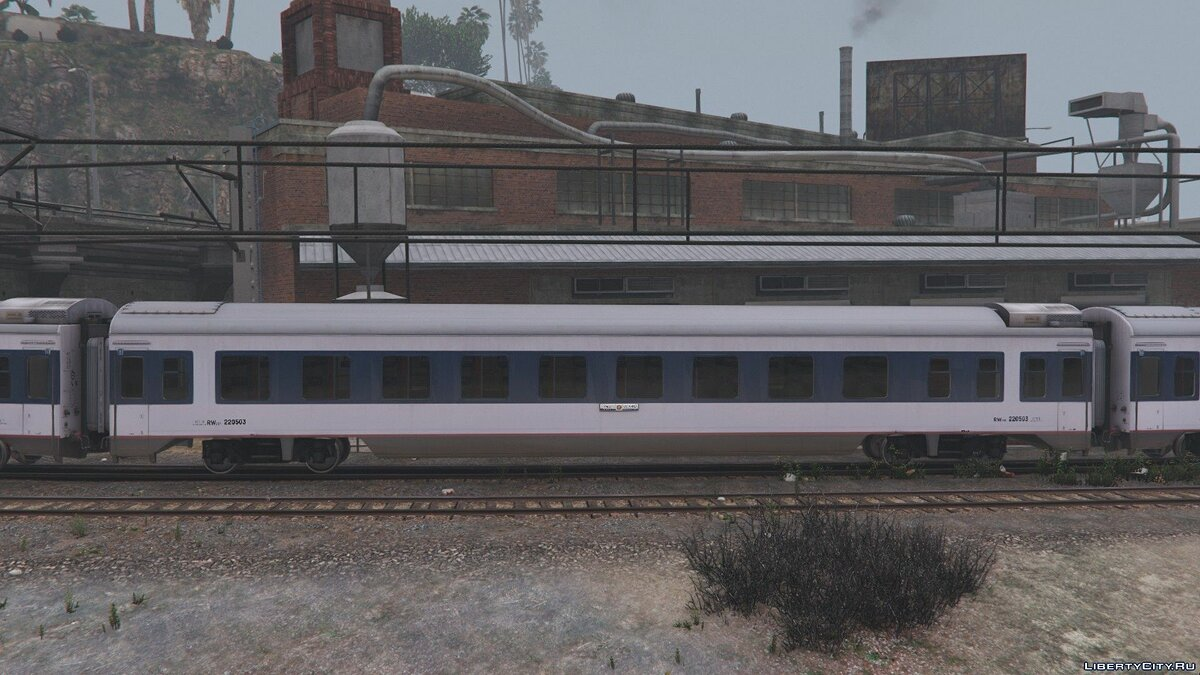 Поезд и трамвай China Railways 25T Series Passenger Coaches [Replace] 1.5 для GTA 5