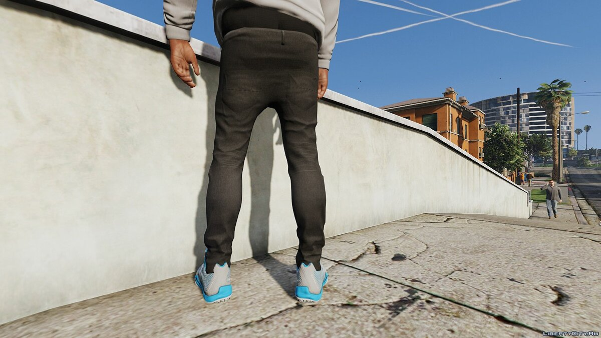Штаны и шорты Sagged skinny jeans for Franklin 2.0beta для GTA 5