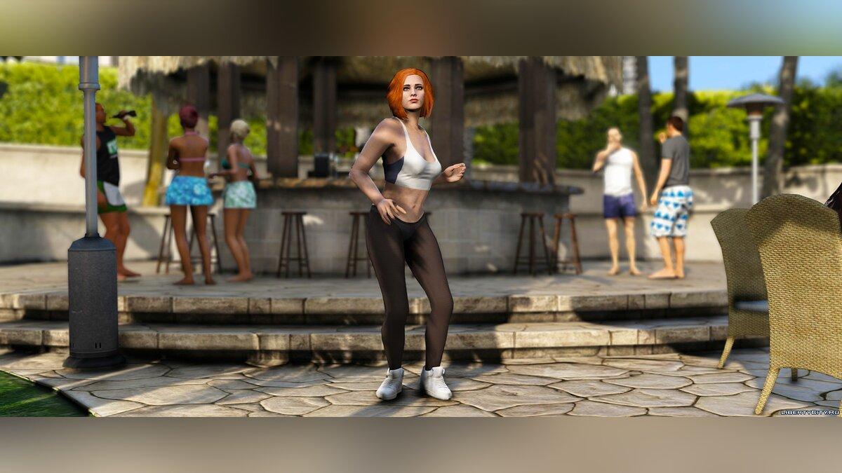 Штаны и шорты Pantyhose for MP Female (+ Matching shoes) для GTA 5
