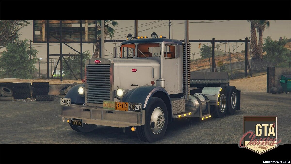 Грузовик 1955 Peterbilt 351 [Add-On | LODs] 1.0 для GTA 5