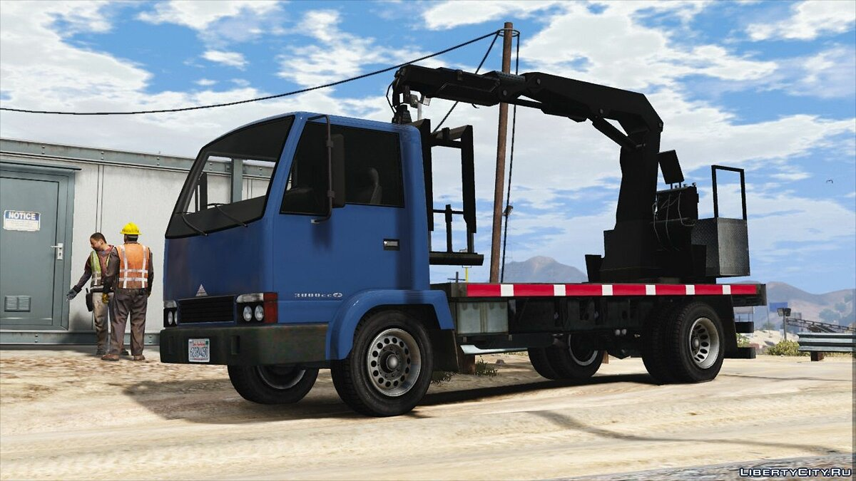 Maibatsu Mule Flatbed [Add-On | Replace] 2.0 для GTA 5