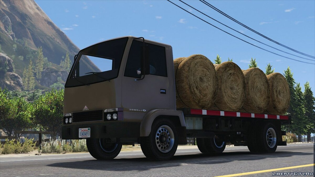 Maibatsu Mule Flatbed [Add-On | Replace] 2.0 для GTA 5 - скриншот #5