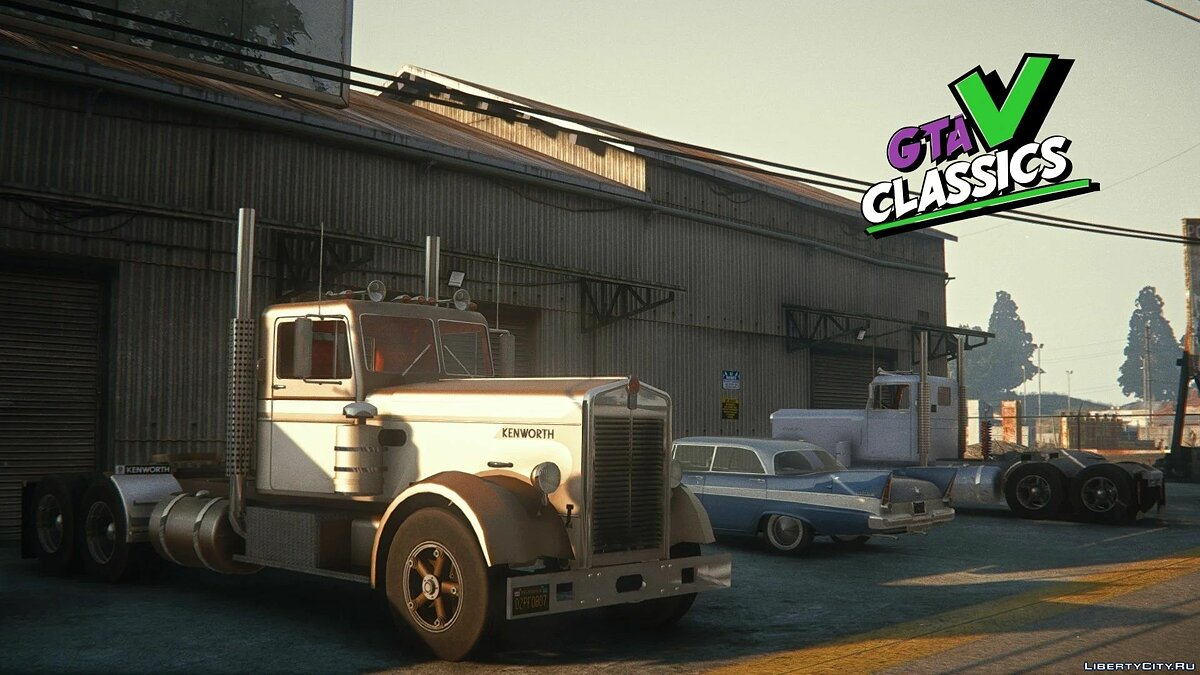 Грузовик 1949 Kenworth 524 [Add-On | LODs] 1.0 для GTA 5