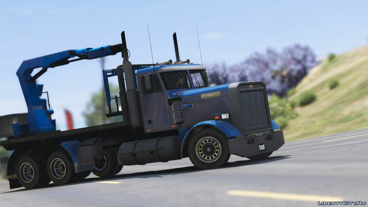 Грузовик MTL Flatbed [Add-On / Replace] 1.1 для GTA 5