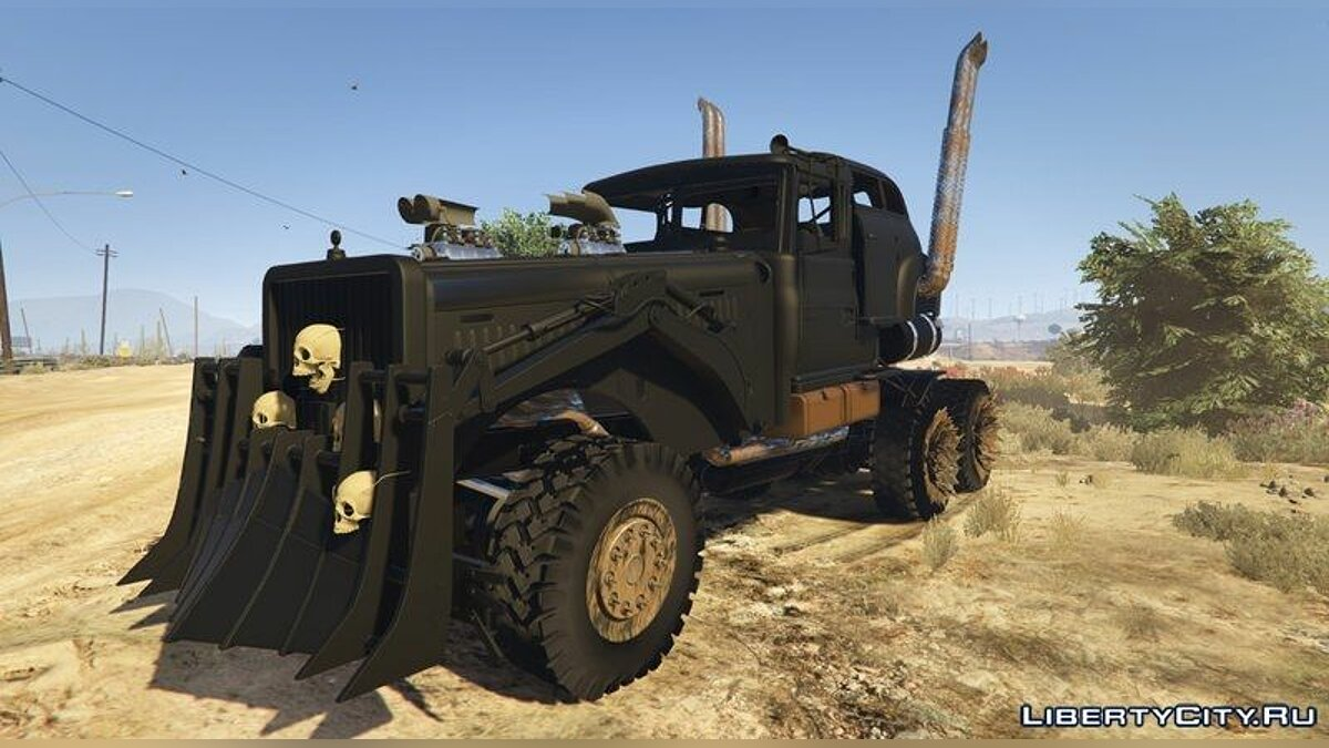 Mad Max: The War Rig для GTA 5