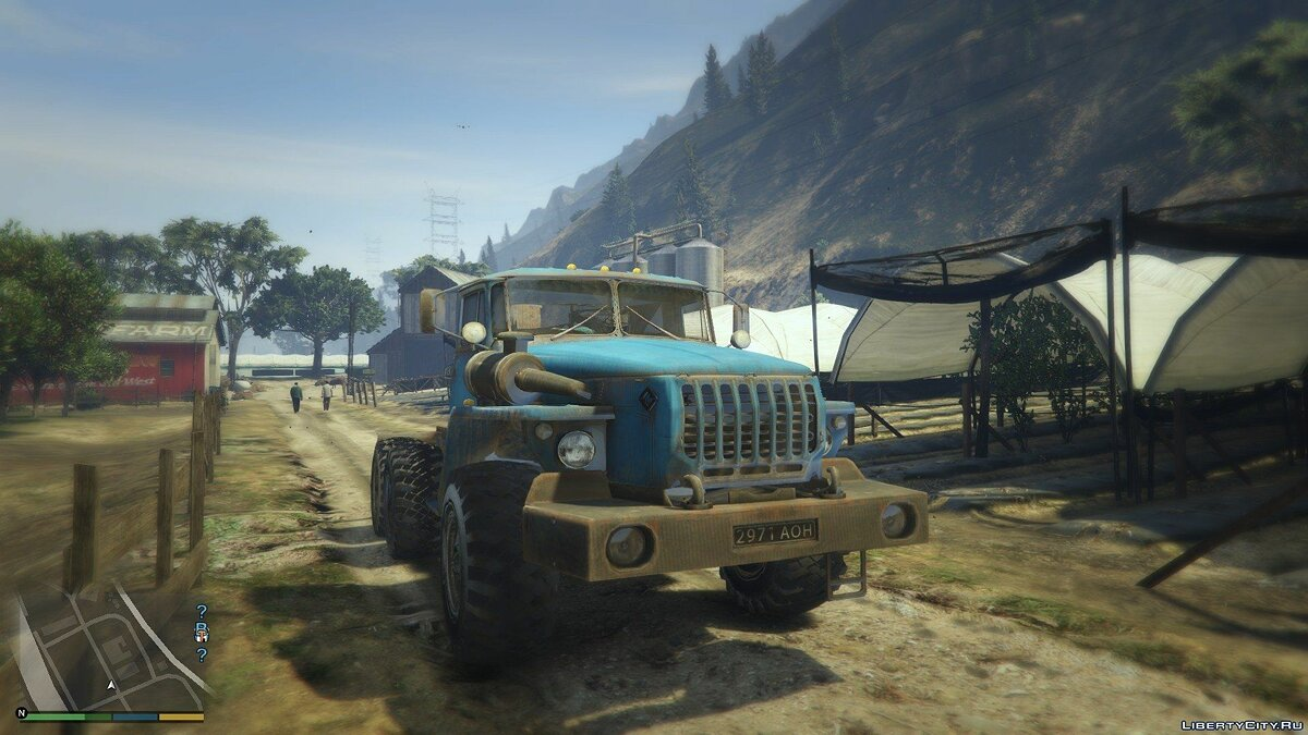 Ural-4320 [Add-on / Replace] 1.1 для GTA 5