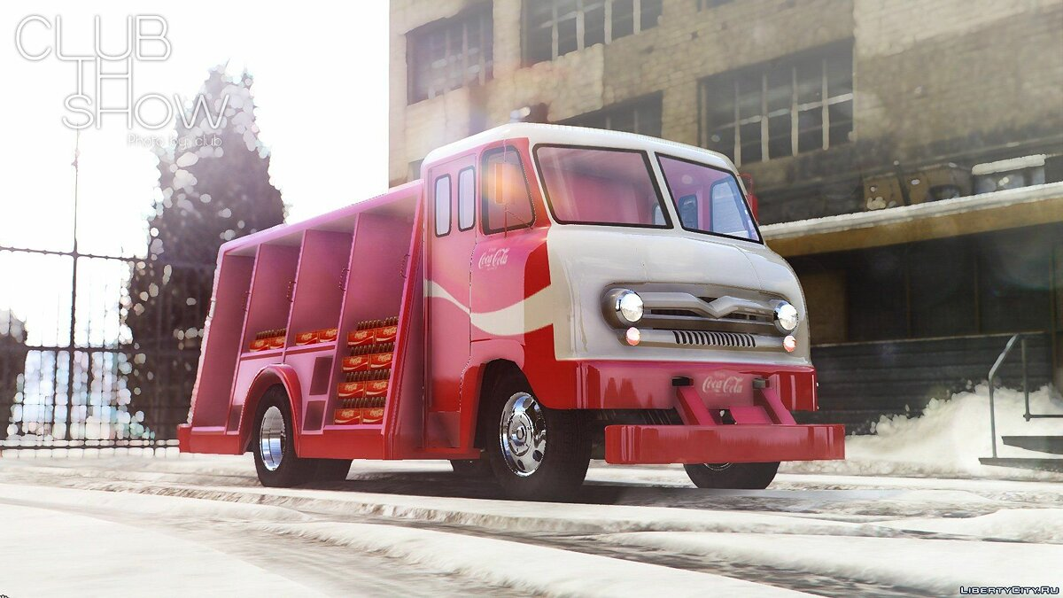 1964 Ford P600 Coca-Cola Delivery Truck [Add-On] для GTA 5