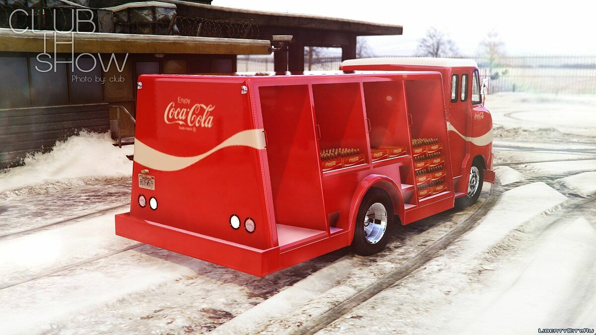 1964 Ford P600 Coca-Cola Delivery Truck [Add-On] для GTA 5 - скриншот #3