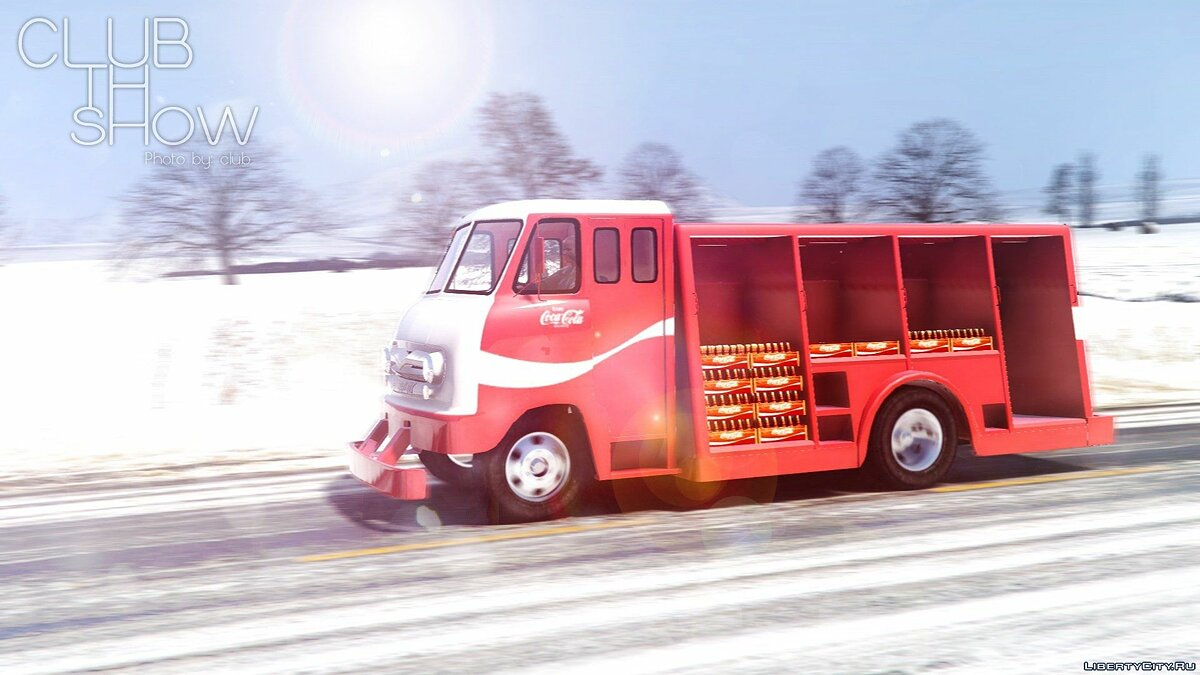 1964 Ford P600 Coca-Cola Delivery Truck [Add-On] для GTA 5 - скриншот #6