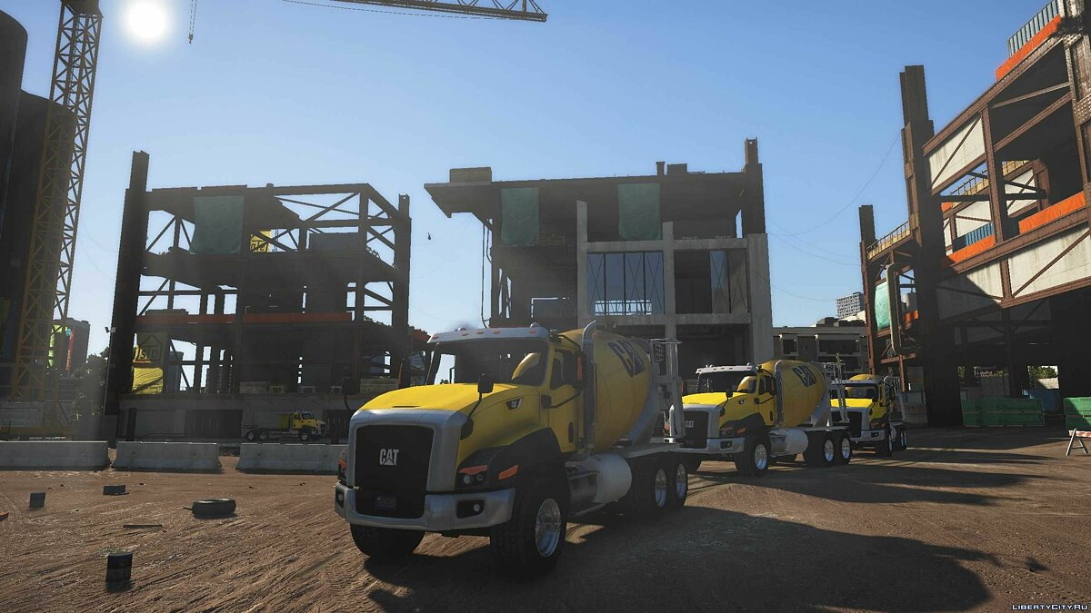 Грузовик 2016 CAT CT660 Multi-function Truck [Add-On] 1.0 для GTA 5