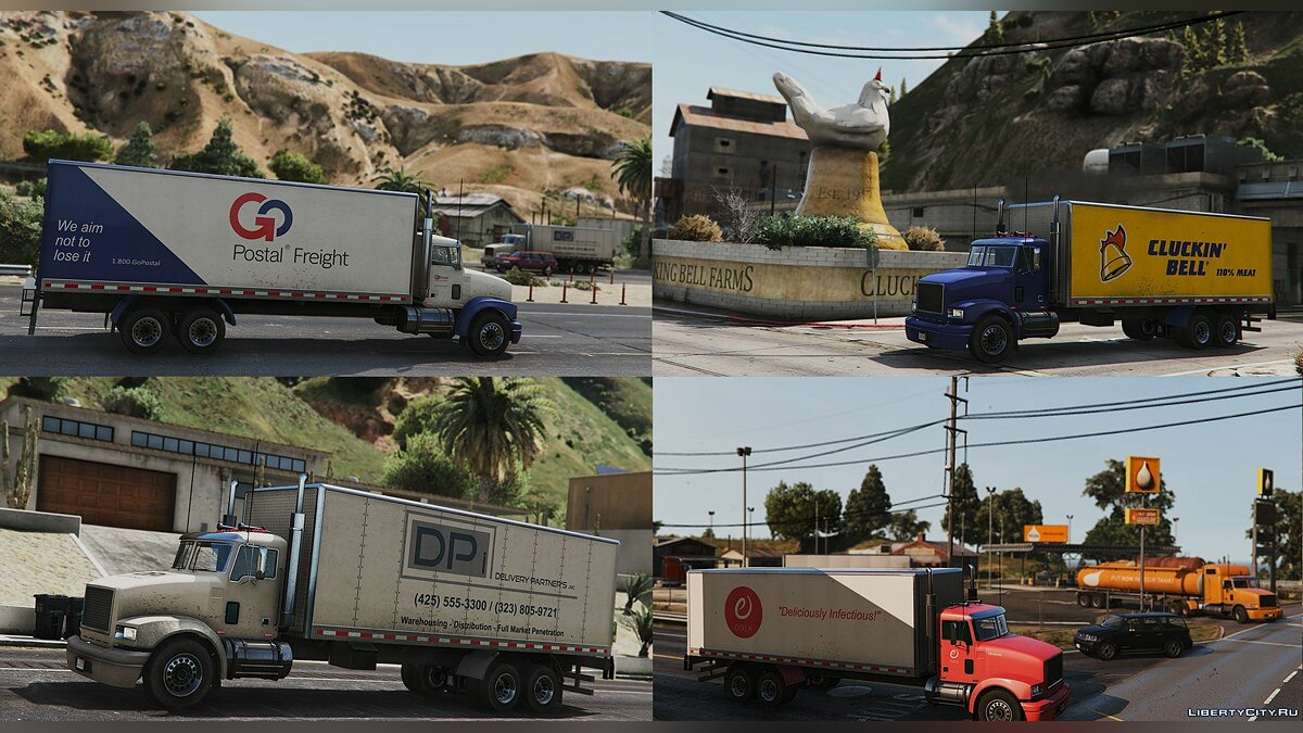 Грузовик MTL Pounder - Mapped Edition [Add-On | Replace | Template] 1.0 для GTA 5