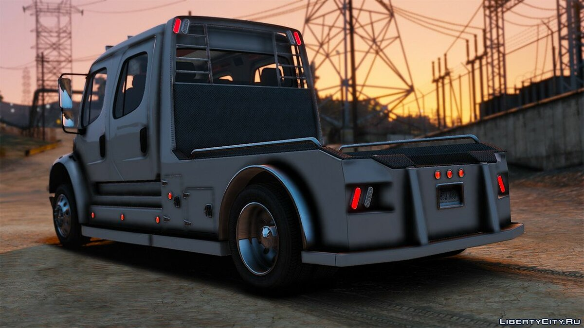Грузовик 2013 Western Hauler M2 Freightliner Crew Cab [Add-on] 1.0 для GTA 5