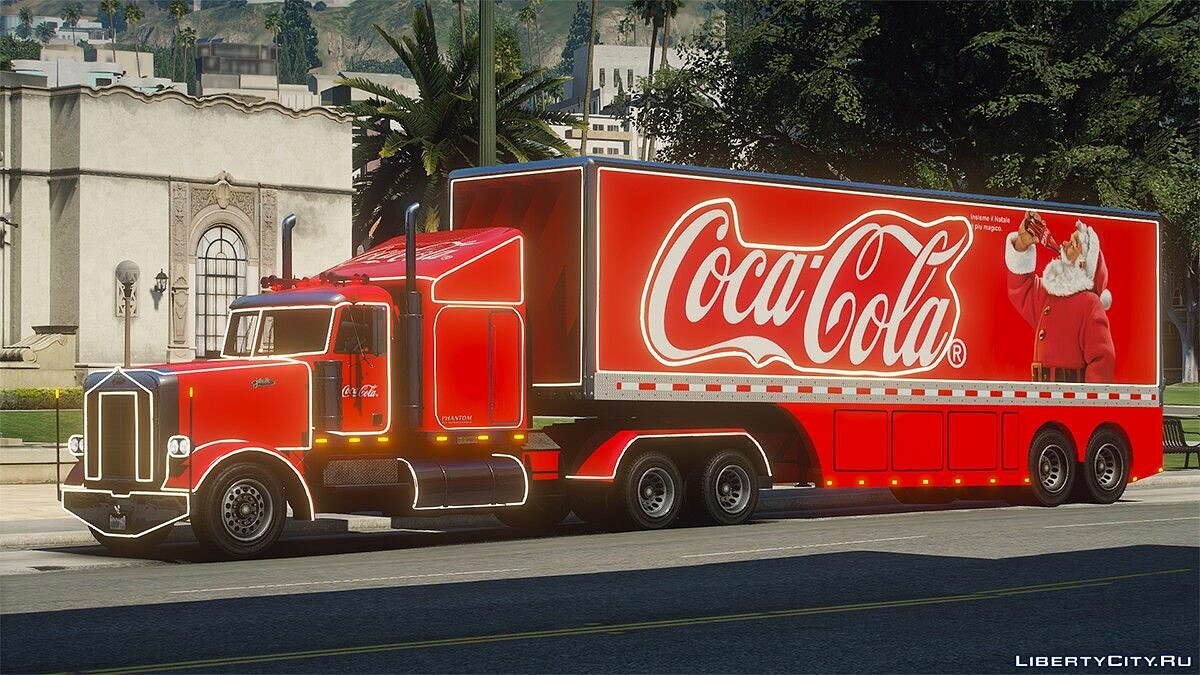 Грузовик Coca-Cola Truck [Add-On] 1.0 для GTA 5