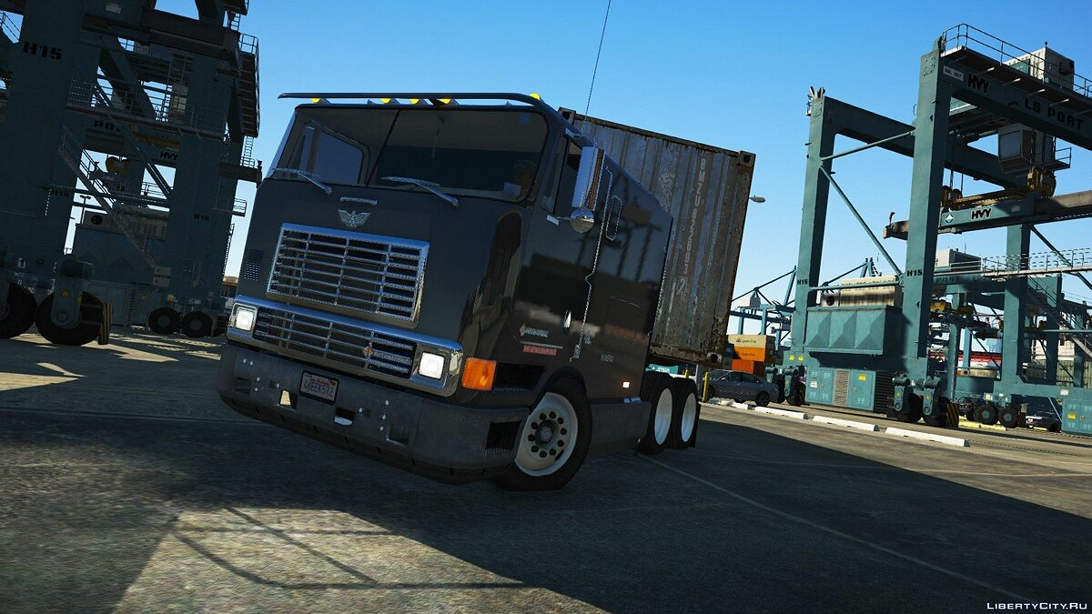 Грузовик Navistar International 9800 [Add-on Version] 1.0 для GTA 5