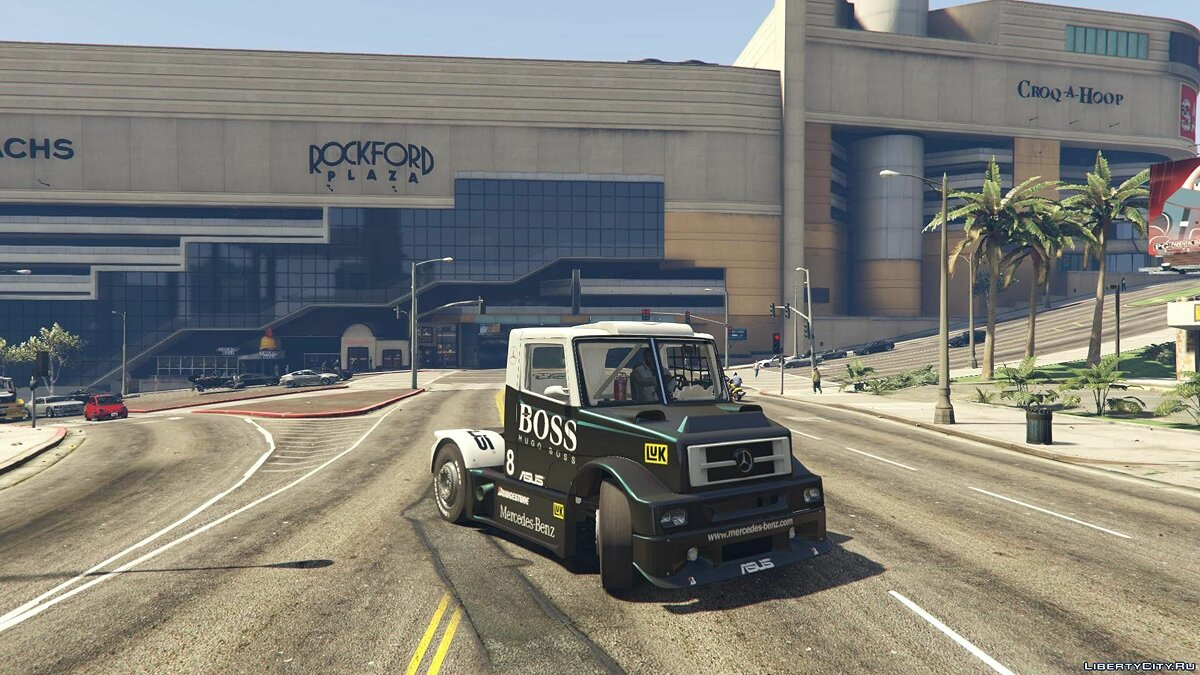 Mercedes-Benz L Series FTruck [Add-On / Replace | Livery] 2.0 для GTA 5
