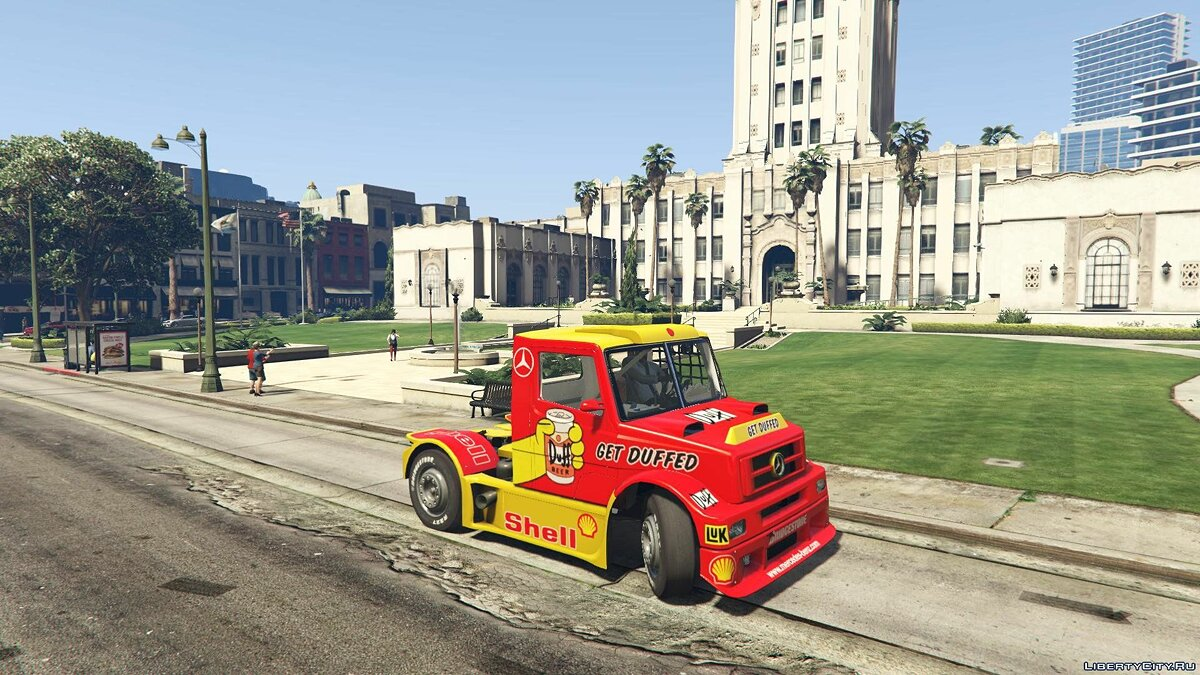 Mercedes-Benz L Series FTruck [Add-On / Replace | Livery] 2.0 для GTA 5 - скриншот #5