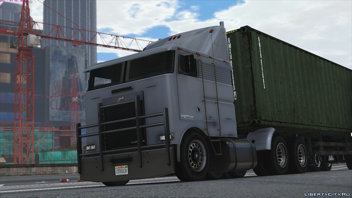 ��рузовик Jobuilt Longpath T1000 [Add-On] 1.0 для GTA 5