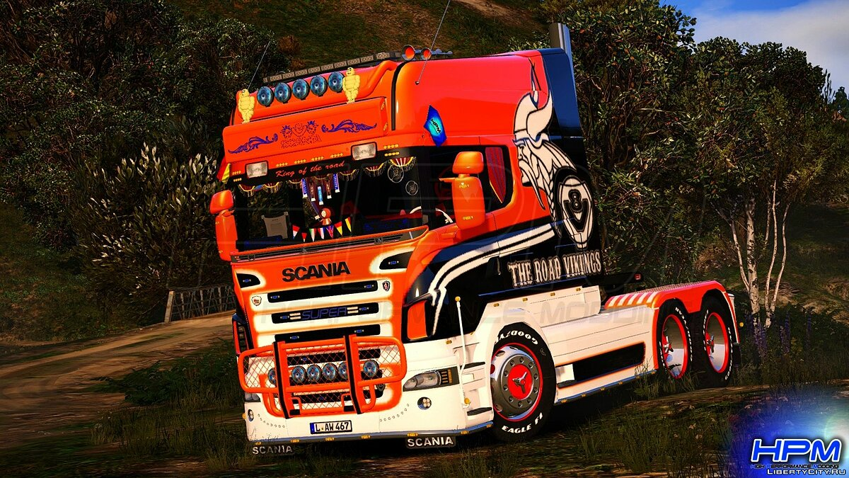 Грузовик Scania R580 Longline Showtruck 2006 для GTA 5