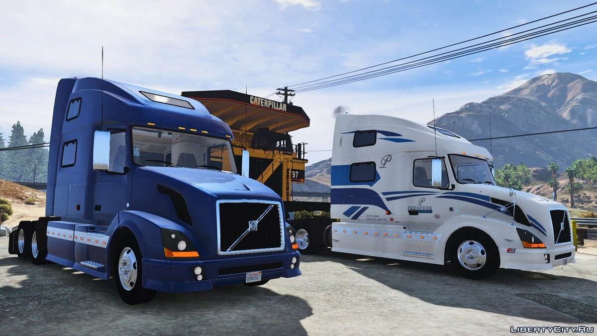 Грузовик 2012 Volvo VNL 780 Truck [Add-On / Replace / Template] 1.1 для GTA 5