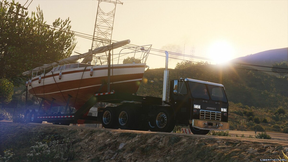 Jobuilt Haulmaster [ Add-On / Replace ] 1.1 для GTA 5 - скриншот #2