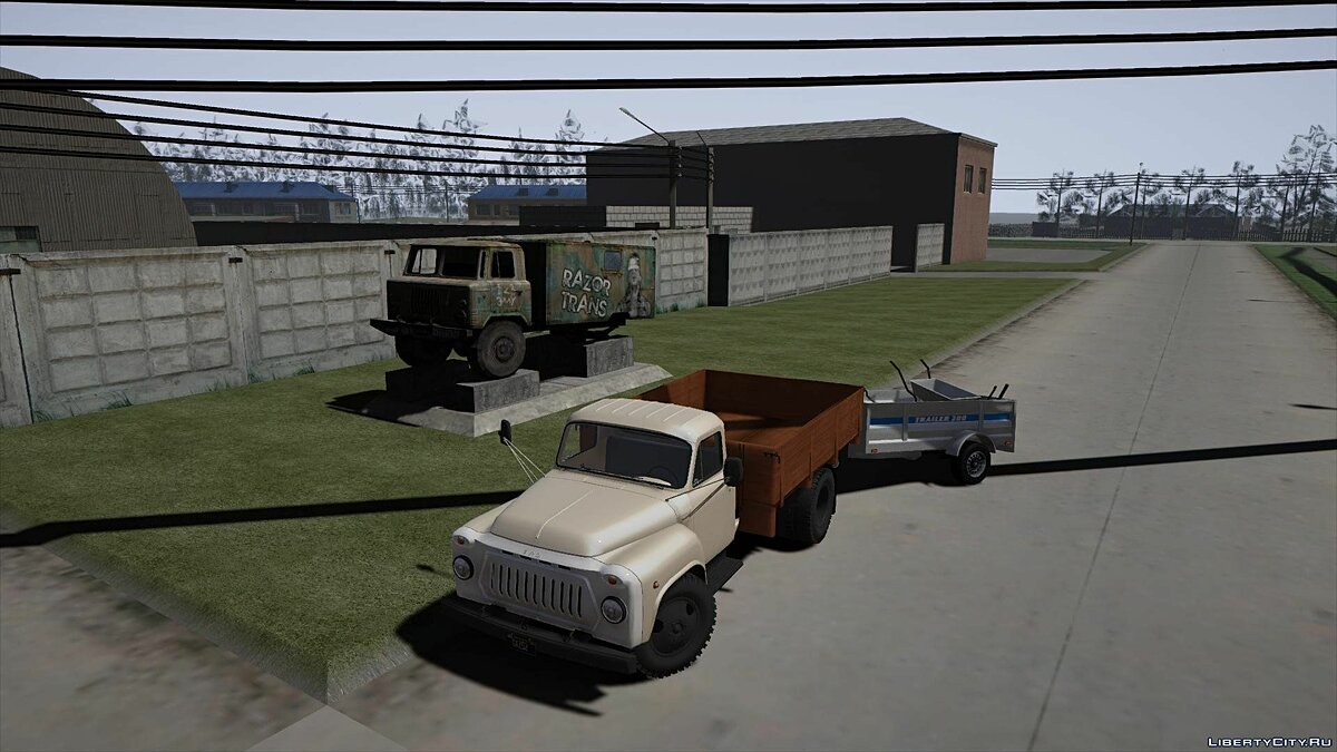 GAZ 52 [Add-On] 1.0 для GTA 5