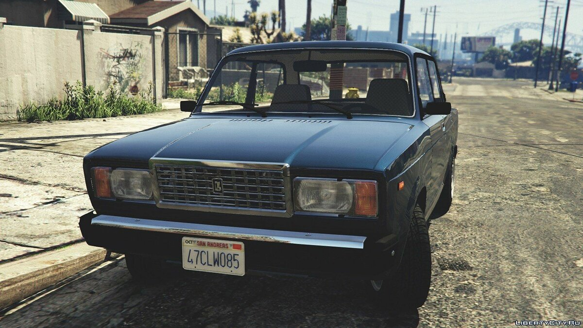 VAZ-2107 (Lada Riva) [Add-On/Replace/Tuning] v1.3 для GTA 5 - скриншот #2