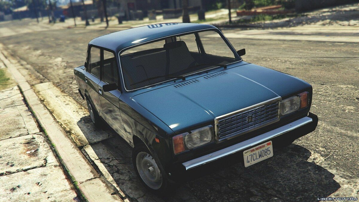 VAZ-2107 (Lada Riva) [Add-On/Replace/Tuning] v1.3 для GTA 5