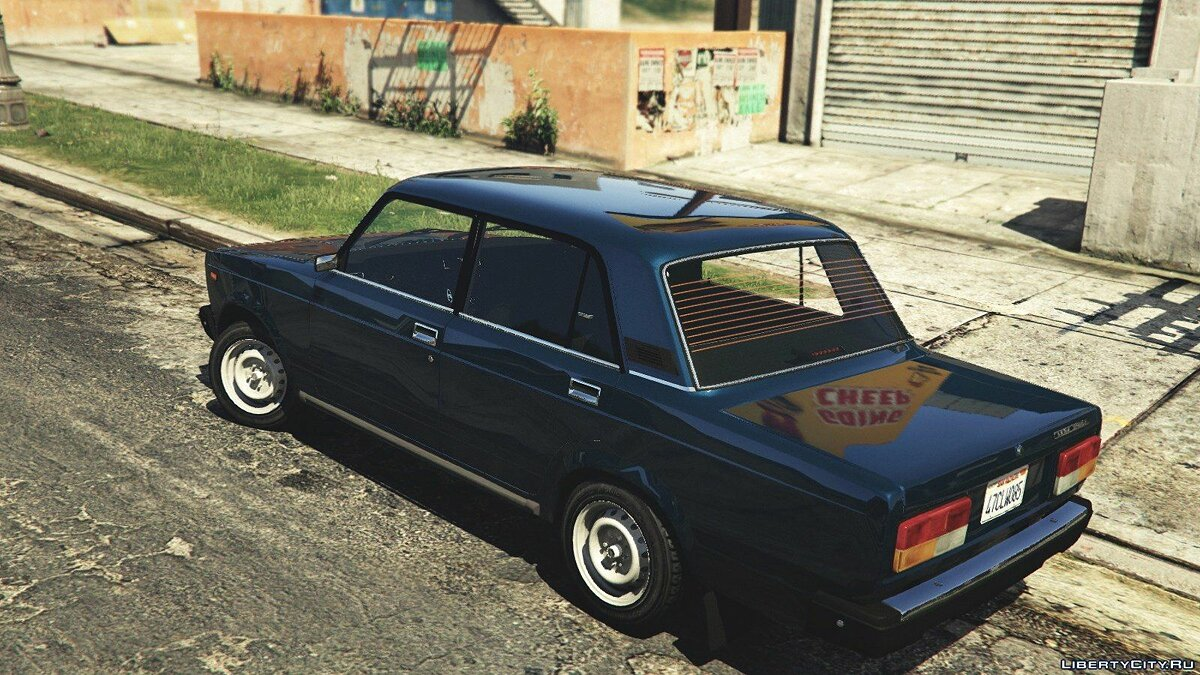 VAZ-2107 (Lada Riva) [Add-On/Replace/Tuning] v1.3 для GTA 5 - скриншот #6