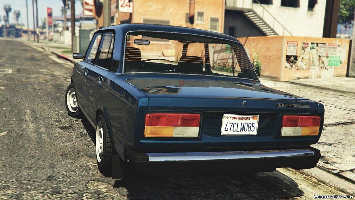 VAZ-2107 (Lada Riva) [Add-On/Replace/Tuning] v1.3 для GTA 5 - скриншот #4