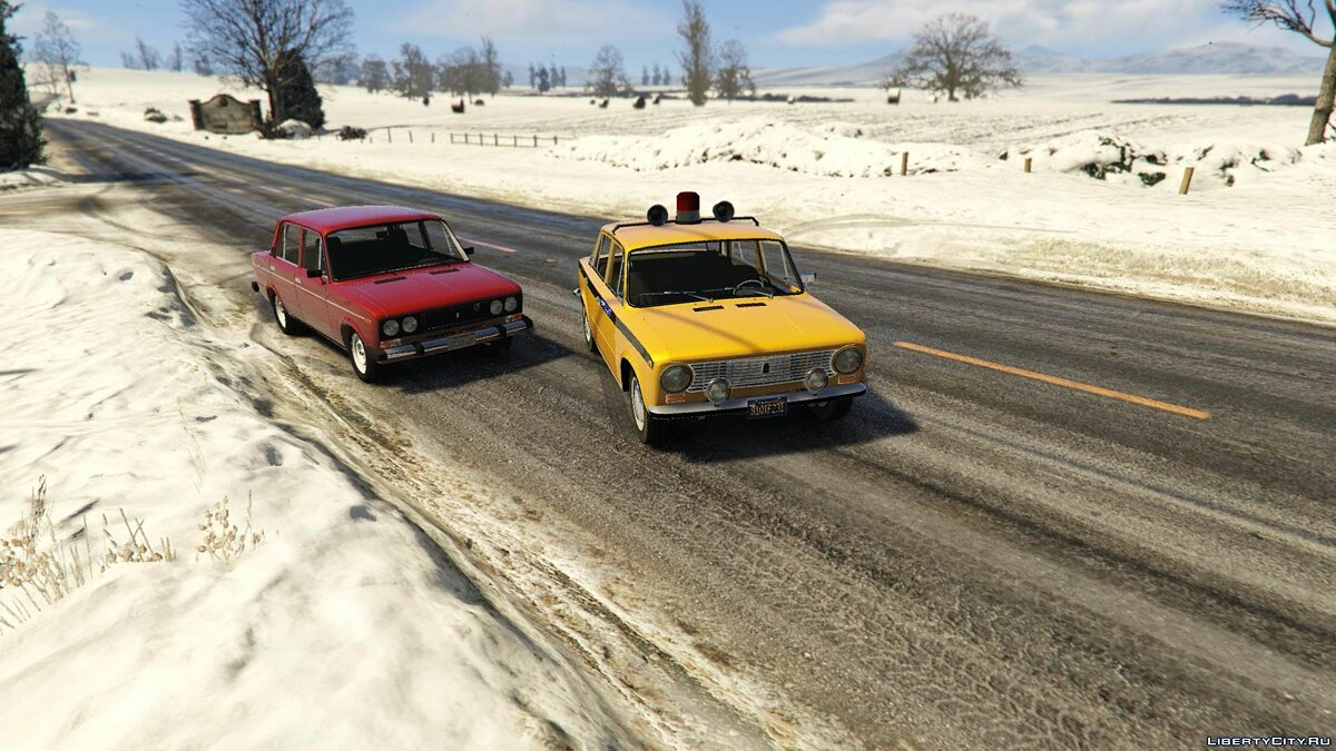 VAZ 2101 Pack (Akrom) [Add-On] 1.0 для GTA 5