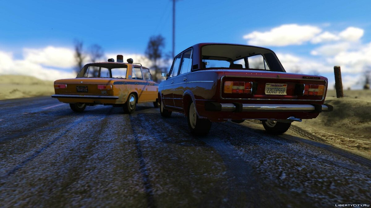 VAZ 2101 Pack (Akrom) [Add-On] 1.0 для GTA 5 - скриншот #10