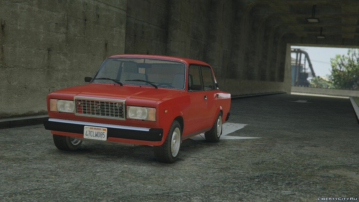 VAZ-2107 (Lada Riva) [Add-On + Tuning] для GTA 5