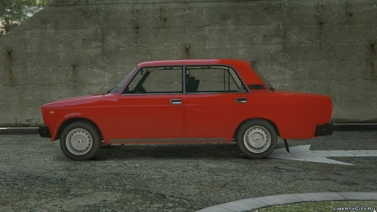 VAZ-2107 (Lada Riva) [Add-On + Tuning] для GTA 5 - скриншот #3