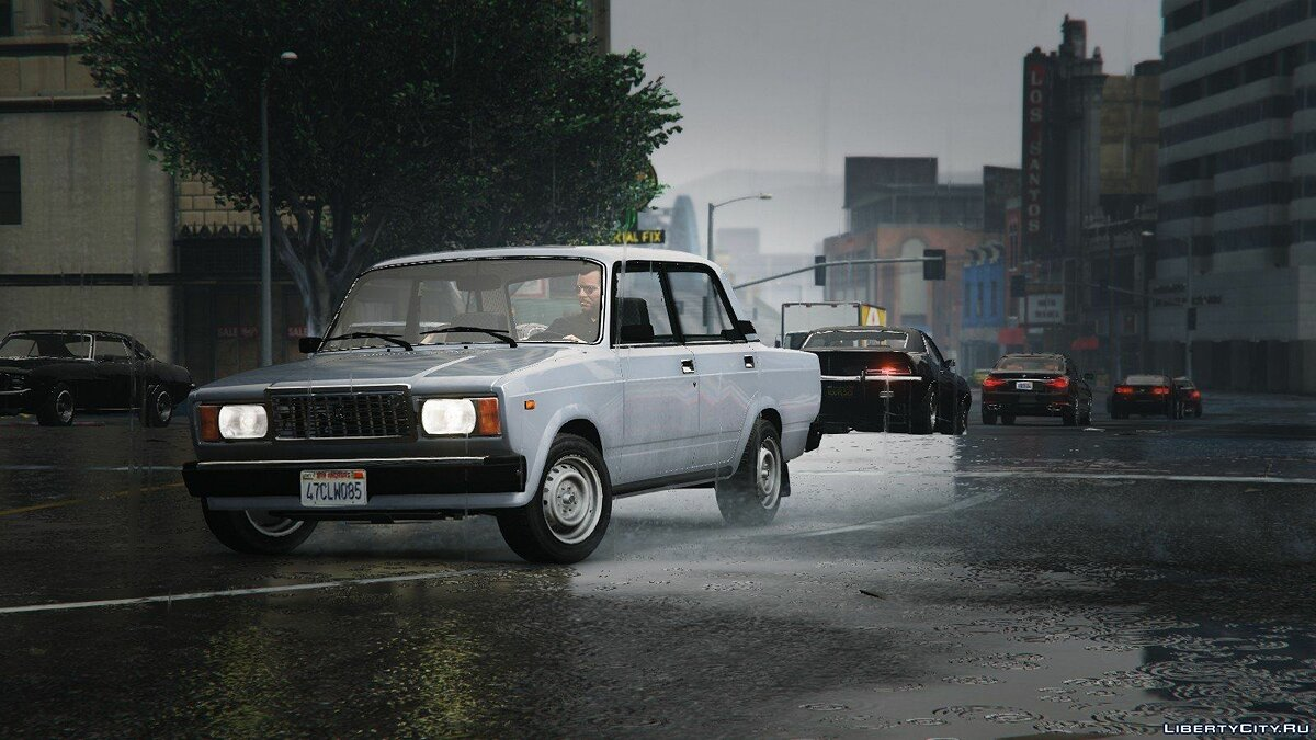 VAZ-2107 (Lada Riva) [Add-On + Tuning] v1.2 для GTA 5 - Картинка #1