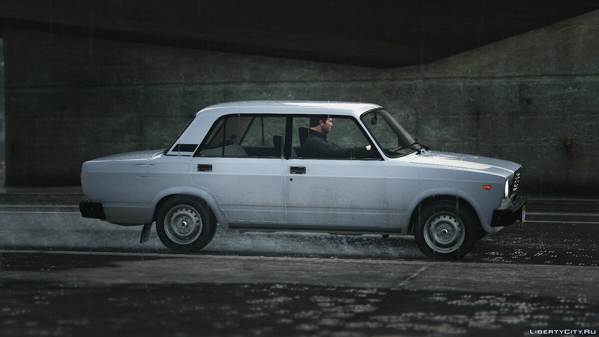 VAZ-2107 (Lada Riva) [Add-On + Tuning] v1.2 для GTA 5 - Картинка #3