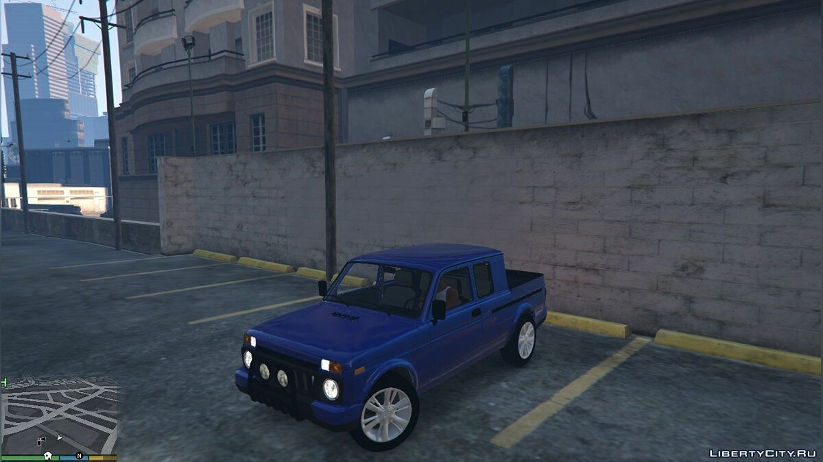 ��ашина ВАЗ LADA Niva Pick-Up для GTA 5