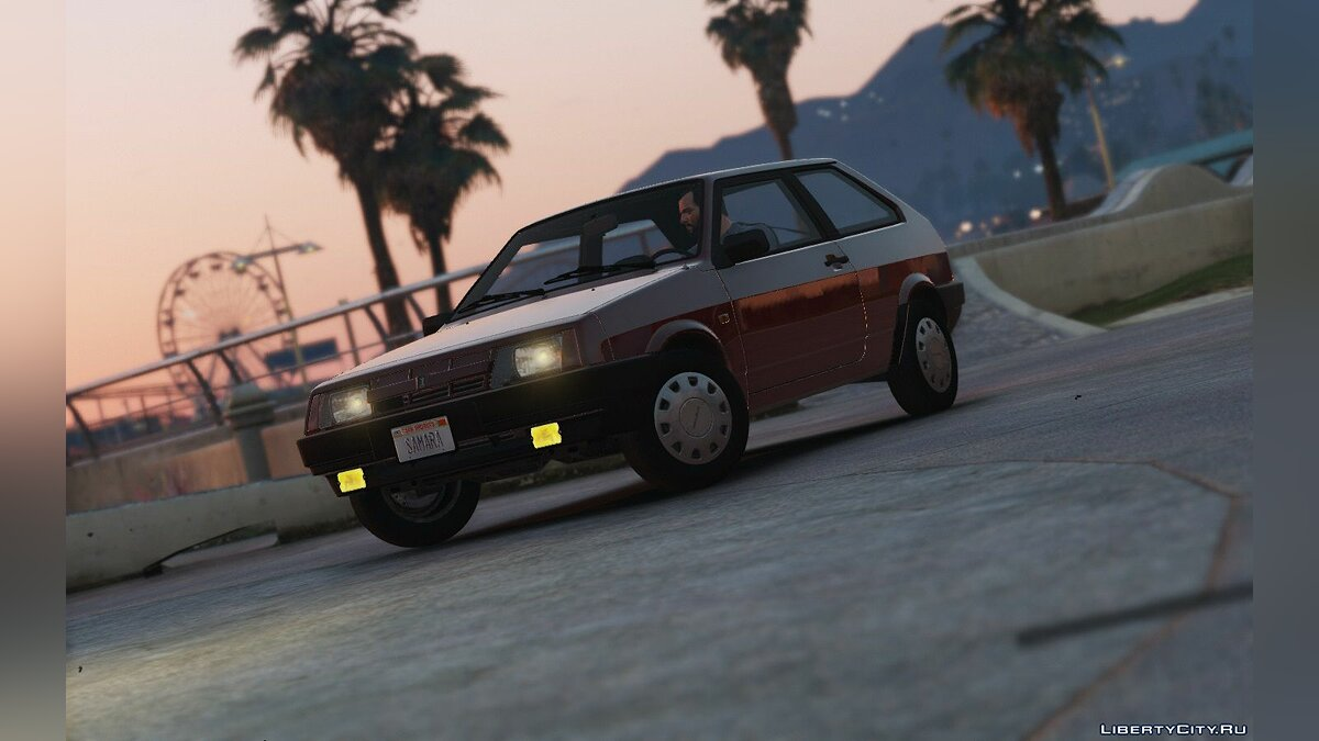 Lada Samara '89 [Add-On / Replace | Tuning] 1.2 для GTA 5