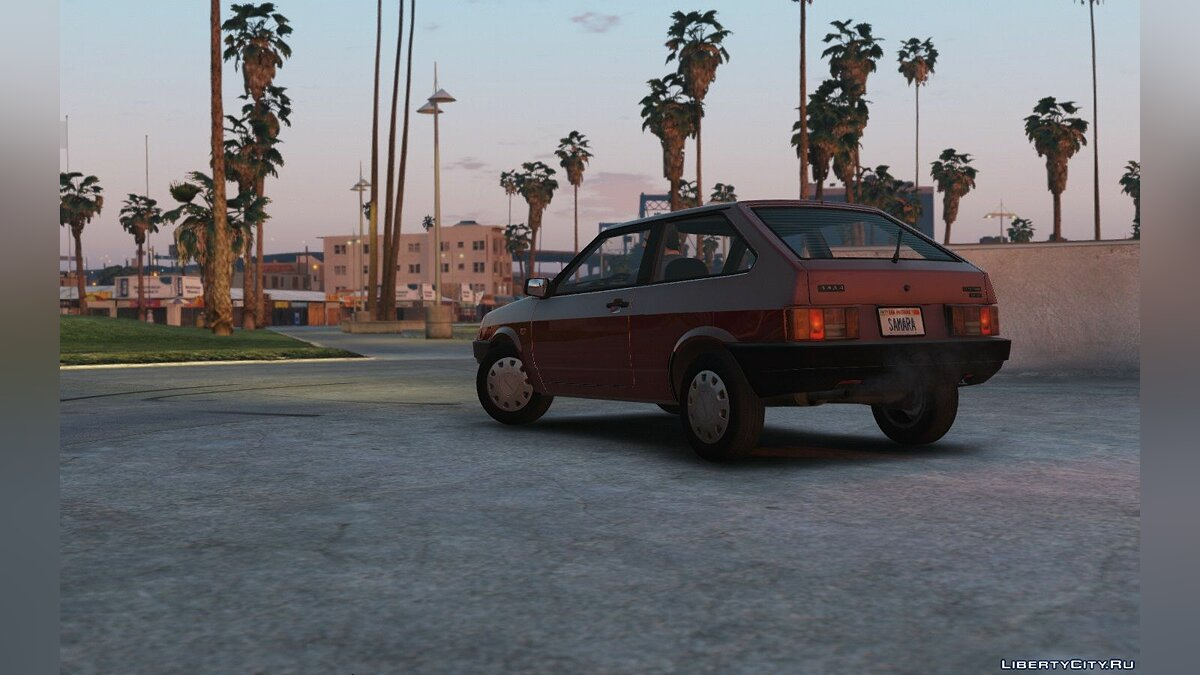 Lada Samara '89 [Add-On / Replace | Tuning] 1.2 для GTA 5 - скриншот #2