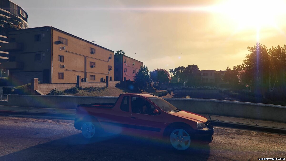 Машина ВАЗ LADA LARGUS by AKROM Add-ON для GTA 5