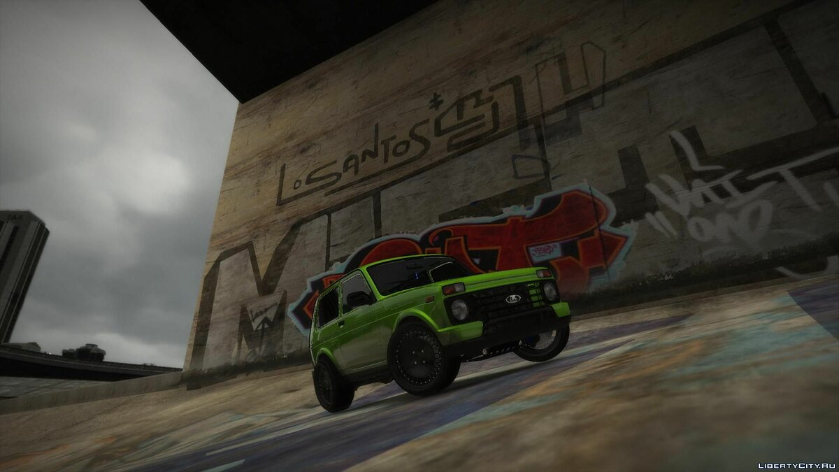 Машина ВАЗ LADA 4x4 Bronto Add-ON 1.0 для GTA 5