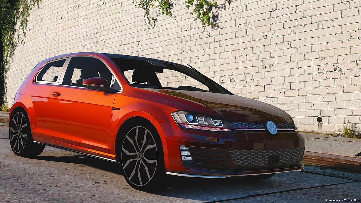 Volkswagen Golf GTI Mk7 Stock [Add-On / Replace | Tuning | Wipers] 2.0 для GTA 5