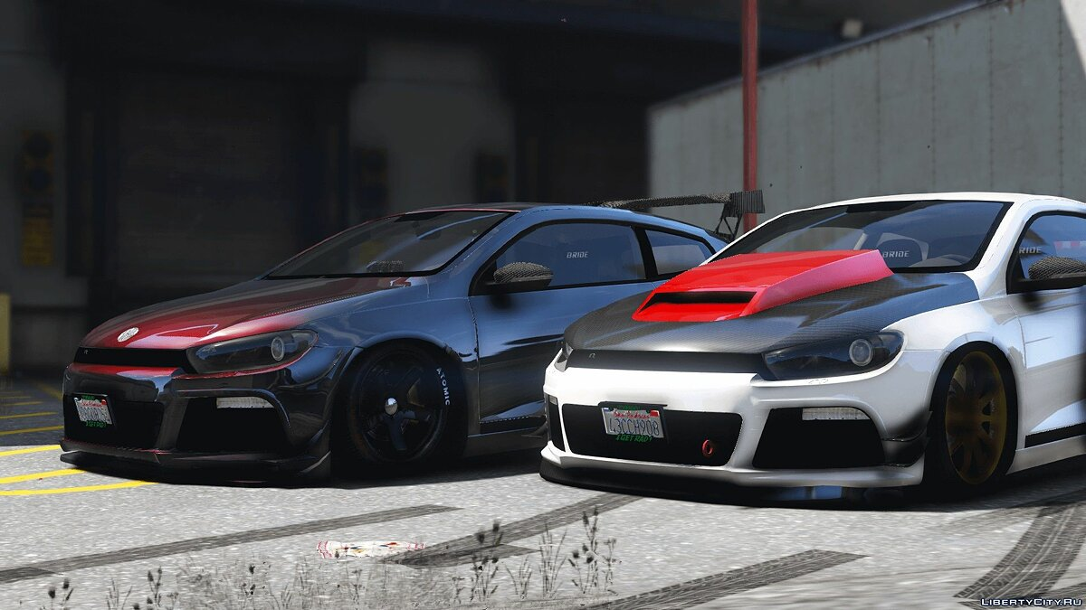 2010 Volkswagen Scirocco Modify [Add-On | Template | Tuning] 1.2 для GTA 5 - скриншот #2