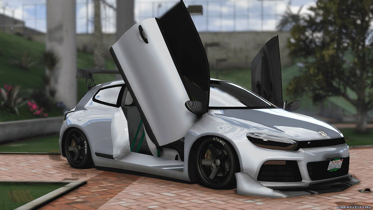 2010 Volkswagen Scirocco Modify [Add-On | Template | Tuning] 1.2 для GTA 5 - скриншот #9