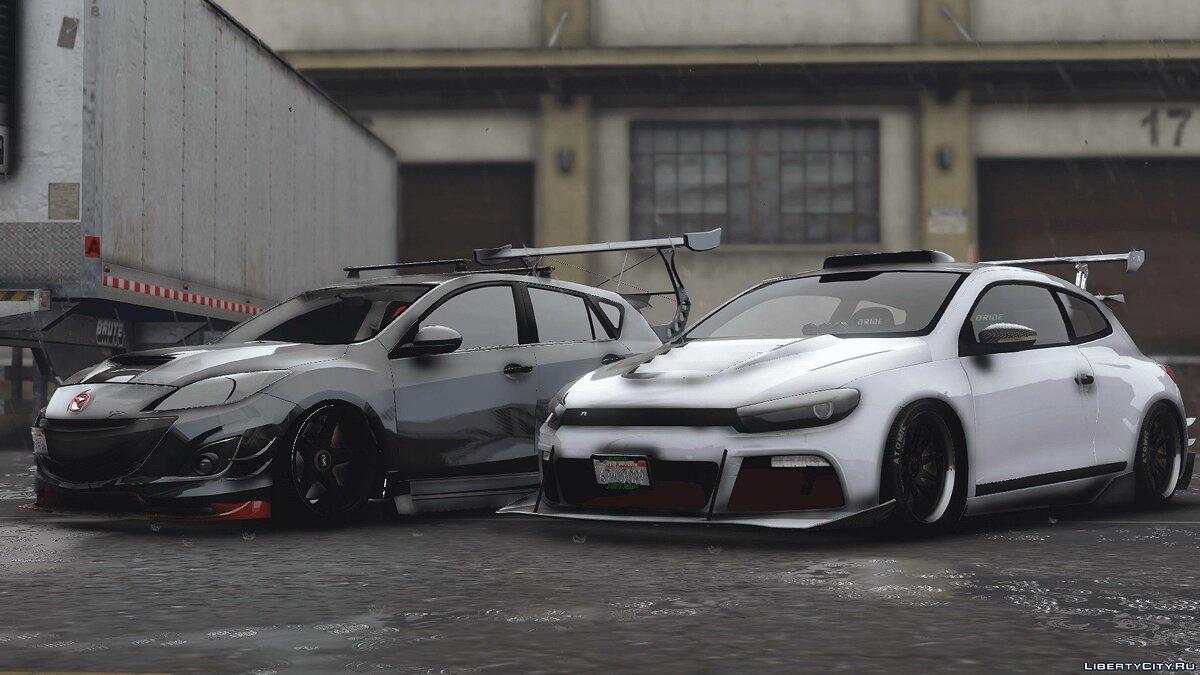 2010 Volkswagen Scirocco Modify [Add-On | Template | Tuning] 1.4 для GTA 5
