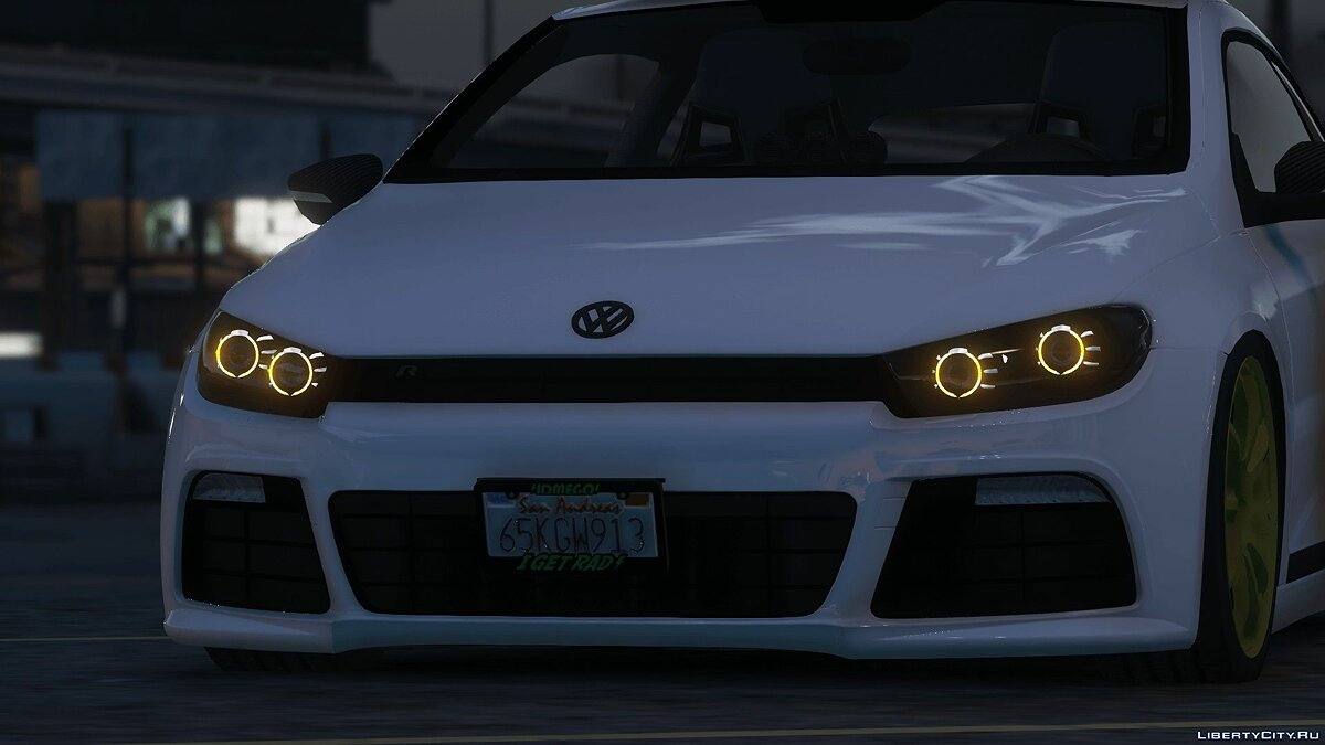 2010 Volkswagen Scirocco Modify [Add-On | Template | Tuning] 1.4 для GTA 5 - скриншот #2